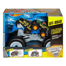 Buy Monster Jam Off-Road Colossal Carrier Online In Dubai & UAE ... Gizmo Toy New Bright 115 Rc Ff Monster Jam Truck Rakutencom Hot Wheels Rev Tredz 2pack Styles May Vary Walmartcom 25th Titan W Team Flag 164 Jam Amazoncom Wrecking Crew Diecast Vehicle 1 Toys Lot Of 92 17324880 Derailed 17 Train Offroad 2014 Giant Grave Digger Mattel List 2018 Trucks Wiki Zombie 124 Scale Best Large Remote Control Kids Big Wheel Car 24 Gptoys S911 24g 112 2wd Electric 5417 Free Decal Sticker Pack Decalcomania