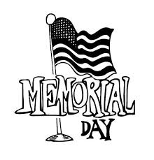 Flag Memorial Day Coloring Page For Kids