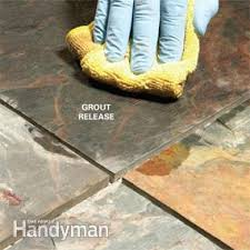 grouting tile floors porous and uneven tiles family handyman