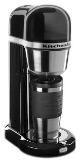 How To Set Timer On Kitchenaid Coffee Maker Kcmob Personal Onyx With Cobalt
