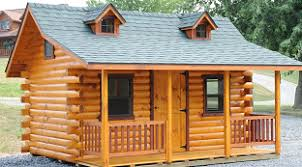 Pre Built Sheds Columbus Ohio by Sunrise Log Cabins Wayside Lawn Structures In Ohio