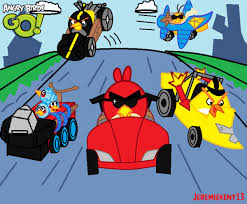 Thetruth40 19 24 Angry Birds Gois A Kart Racing Game By