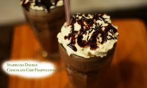 Starbucks Double Chocolate Chip Frappucino
