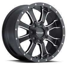 100 Discount Truck Wheels Raceline Mamba HD TRUCK Black 20x9 5X135 5X127 5X5 0