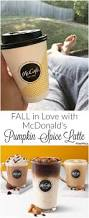 Mcdonalds Pumpkin Spice Latte Ingredients by 48 Best Mcdonald U0027s Images On Pinterest Blogging Cooking Recipes