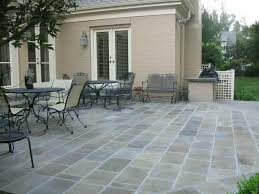 Backyard Flooring Ideas Innovative With Image Of Outdoor Terrace