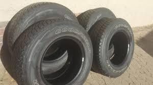 Set 245/75/17 Goodyear Wrangler Jeep Tyres 70% Tread R1200 Each ...