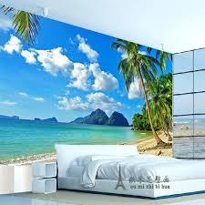 Beach Wall Paper Along The Beach Wallpaper Mural Beach Wallpaper