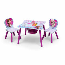 Princess Kitchen Play Set Walmart by Disney Frozen Table And Chair Set With Storage Walmart Com