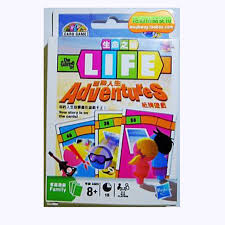 Life Adventures Board Game Funny Family Party Easy To Play With English