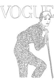 Vogue Colouring Book Get All The Latest News Breaking Headlines And Top Stories Photos Video In Real Time About VOGUE
