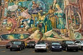 Philadelphia Mural Arts Map by Josh Friedman Photography Beautiful Walls In The Inner City