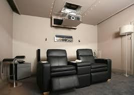 Drop Ceiling Mount Projector Screen by Home Cinema Showroom Surrey Salamander Stealth Acoustics Nuvo