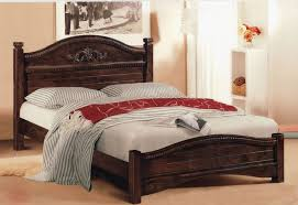 Cheap Wooden Beds Wooden King Size Bed Frame With Drawers Single