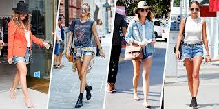denim cut off shorts trend for summer 2015 how to wear cutoff