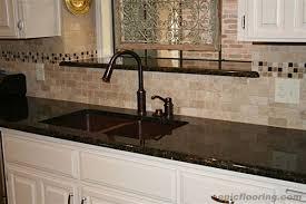 black granite countertops with tile backsplash dissland