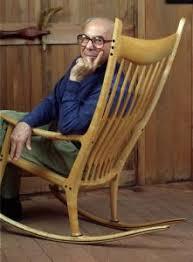 Sam Maloof Rocking Chair Video by Sam Maloof Pioneered Wooden Furniture Trend The Boston Globe