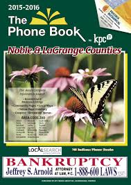 Yellow Pages - Noble And LaGrange Counties 2015-2016 By KPC Media ...