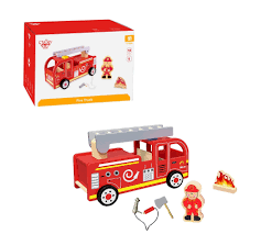 New Childrens Kids Tooky Toy TKF028 Wooden Fire Engine Truck Fire Truck Engine Kids Videos Station Compilation Novelty Lunch Box Learn About Trucks For Children Educational Video By Dump Mixer Road Roller Colors With Kids Large Ride On Toy Ladder W Lights Siren And Rc Cannon Brigade Vehicle Youtube Blippi Songs For Nursery Rhymes Fire Truck Videos Kids Trucks Ride Unboxing Review Youtube And Dodge Ram 3500 In