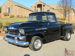 1958 Chevrolet Apache Stepside Pickup 1958 Chevrolet Apache Stepside Pickup 1959 Streetside Classics The Nations Trusted Cameo F1971 Houston 2015 For Sale Classiccarscom Cc888019 This Chevy Is Rusty On The Outside And Ultramodern 3100 Sale 101522 Mcg 3200 Truck With A Twinturbo Ls1 Engine Swap Depot Editorial Stock Image Of Near Woodland Hills California 91364 Chevrolet Pickup 243px 1 Customer Gallery 1955 To