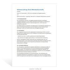 Primär Musterbrief Kündigung Rahmenvertrag Kündigung Schreiben