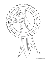 Horse Barrel Racing Coloring Pages Awesome Medal Page Animal Farm Print Pictures Full Size