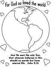 Free Coloring Pages Of A World Globe For Children