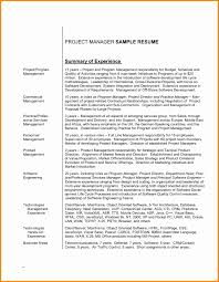 Resume Profile Statements