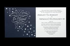 Unique Winter Wedding Invitation Design