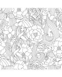 Flowers Coloring Page Beautiful Garden Coloringpages Freeprintable