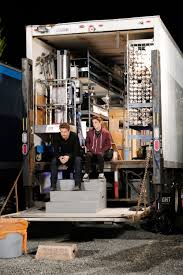 100 Grip Truck Rachel And Jeremy Sit In Grip Truck Wide Shot UnREAL