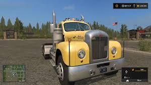 FS17 OLD MACK B61 V8 TRUCK V1.0 - Farming Simulator 2019 / 2017 ...