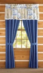 Arctic Polar Bear Window Valance Curtains