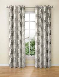 geometric pattern curtains canada curtains ready made net eyelet bedroom curtains m s