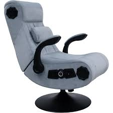 X Rocker Wireless Deluxe Gaming Chair - Grey Pyramat Wireless Gaming Chair Home Fniture Design Game Bluetooth Singular X Rocker 51259 Pro H3 41 Audio Chair Infiniti 21 Series Ii Bckplatinum Aftburner Pedestal New 2018 Xrocker Se Sound Fox 5171401 Cxr1 Ackblue Office Chairs Xrocker Spider With