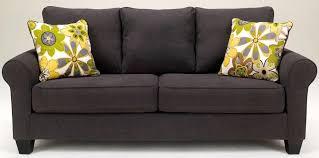 nolana charcoal queen sofa sleeper 1650139 ashley furniture 689