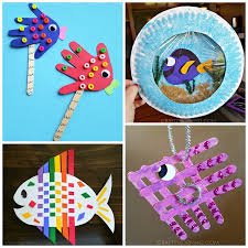 Cute Fish Crafts For Kids To Make