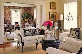 Decor Flowers Home House Interior Living Room