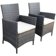 Pair Of Rattan Dining Armchairs - Brown Bainbridge Ding Arm Chair Montecito 25011 Gray All Weather Wicker Solano Outdoor Patio Armchair Endeavor Rattan Mexico 7 Piece Setting With Chairs Source Chloe Espresso White Sc2207163ewesp Streeter Synthetic Obi With Teak Legs Outsunny Coffee Brown 2pack Modway Eei3561grywhi Aura Set Of 2 Two Hampton Pebble