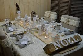 deco noel de table table deco noel