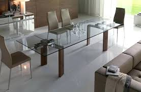 glass and wood dining tables thelt co
