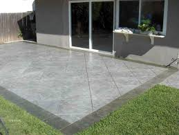 improbable backyard patio ideas concrete reative of concrete patio
