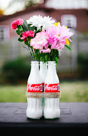 Fresh Diy Flower Vase Home Idea Coke Bottle How To Make Paper At Easy With Waste Material Step
