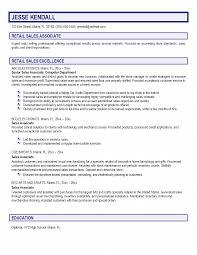 Resume Sample For Retail Sales Associate Objectives Clerk
