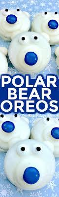 Easy Polar Bear Cookies
