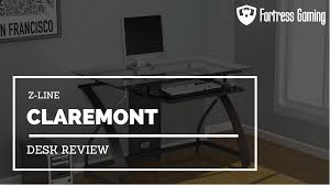 z line claremont desk review fortress gaming