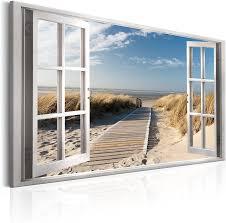 leinwand bilder meer strand landschaft wandbilder