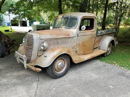Barn Find 1937 Ford Pickups Vintage Truck For Sale