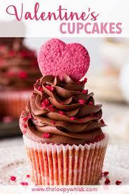 Raspberry Chocolate Valentines Cupcakes Gluten Free