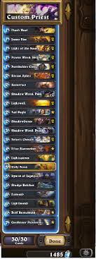 priest deck hearthstone best 2016 hearthstone priest healing deck build thought for your
